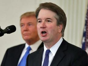 Trump's Supreme Court justice nominee Brett Kavanaugh speaks at the White House