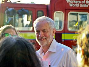 Labour Party leader Jeremy Corbyn