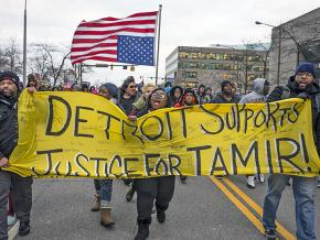 Activists demand justice for Tamir Rice in Detroit