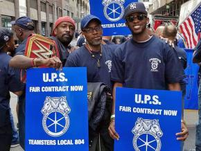 Teamsters fight for a fair contract in New York City