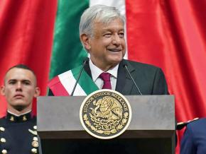 President Andrés Manuel López Obrador is inaugurated in Mexico City