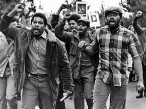 Students on strike at San Francisco State in 1968