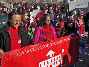 Educators take to the streets of Denver for the schools their students deserve