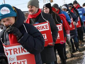 Educators hold the line at Wright State University