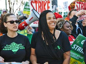 Oakland teachers strike in defense of public education