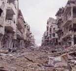 Destruction caused during the siege of Aleppo