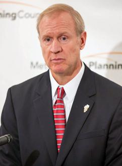 Illinois Gov. Bruce Rauner (Tricia Scully)