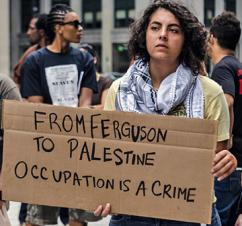 Solidarity between Palestine supporters and anti-racist activists has continued to develop (Sarah-ji)