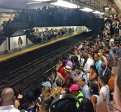 Thousands of New York City commuters stuck underground