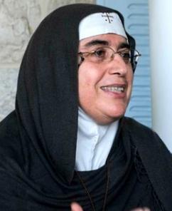 Mother Superior Agnès Mariam de la Croix