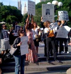 Across the country, vigils have been held to honor Dr. Tiller as a hero who stood up for women's rights (Melissa Gira)