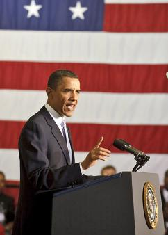 President Obama speaking in Florida (Paul E. Alers)