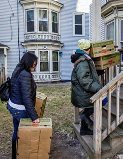 A resident is forced to move from 61-69 Grant St.