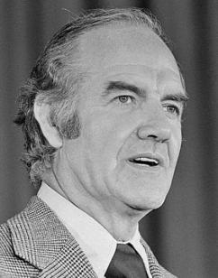 George McGovern in 1972 (Warren K. Leffler)