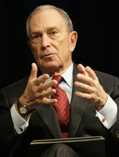 New York City Mayor Michael Bloomberg (Simone D. McCourtie)