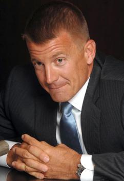 Blackwater founder and owner Erik Prince