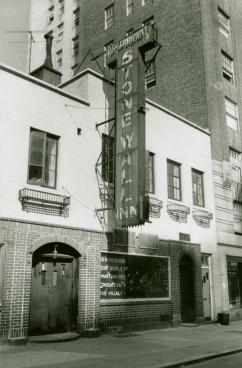 The Stonewall Inn in New York City (Diana Davies)