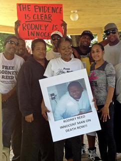 Rodney Reed's family and supporters rally for justice in Bastrop (Randi Jones Hensley | SW)