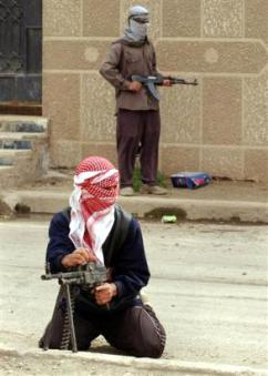 Iraqi resistance fighters