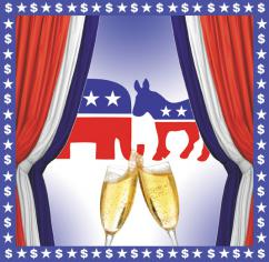 Who's paying for the parties' parties? (Eric Ruder   SW)