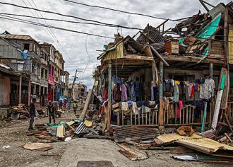 Residents return to their crumbling homes after Hurricane Matthew strikes Haiti