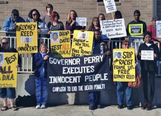 Texas activists have long mobilized support for death row prisoner Rodney Reed (Free Rodney Reed)