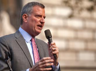 New York City Mayor Bill de Blasio  (Kevin Case)