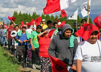 Farmworkers march for union recognition in Washington state  (Familias Unidas por la Justicia)