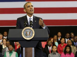 "President Obama talks up his ""My Brother's Keeper"" initiative"