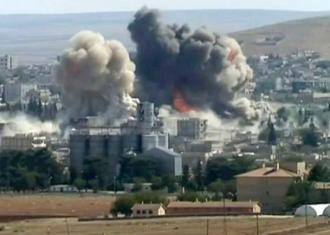 Explosions in Kobani claimed by IS forces