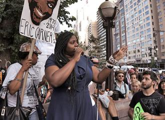 Speaking out on the first anniversary of Eric Garner's murder