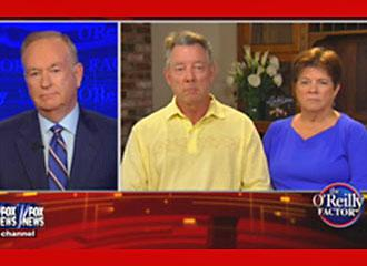 Katie Steinle's parents appear on Fox News' The O'Reilly Factor