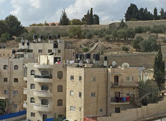 Palestinian homes in East Jerusalem (Dele Balogun | SW)