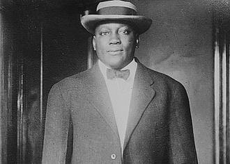 Jack Johnson in 1915