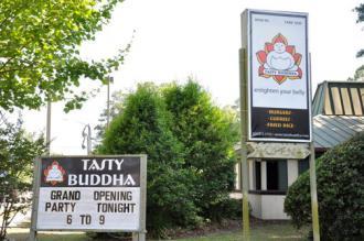 Tasty Buddha restaurant in Gainesville, Fla.