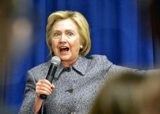 Hillary Clinton (Alex Hanson)