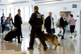 Airport police (Josh Thompson)