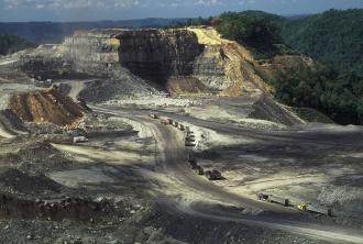 Mountain-top removal coal mining is destroying large portions of Kentucky, Tennessee, Virginia and West Virginia