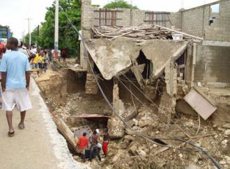 Much of Haiti was devastated by recent hurricanes (Radio Nederland)