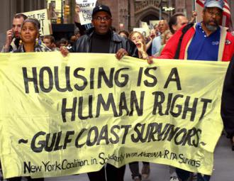 Housing rights activists build solidarity from New York to New Orleans (A. Golden)