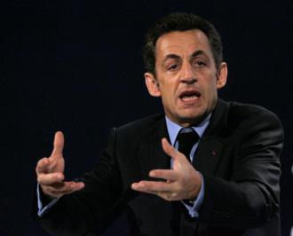 French President Nicolas Sarkozy (Anita Maric)