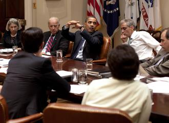 Barack Obama and his administration have made a series of concessions on health care legislation (Pete Souza)