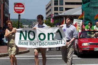 LGBT rights activists are facing down a new campaign against marriage equality in Maine