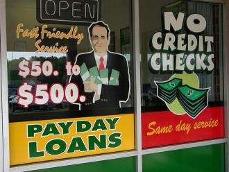 Pay day loan stores are increasingly common (Andrew Bain)