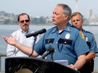 Seattle Police Chief John Diaz (Jen Nance)