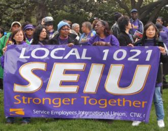 SEIU Local 1021 members and supporters (Sharat G. Lin | Indybay.org)