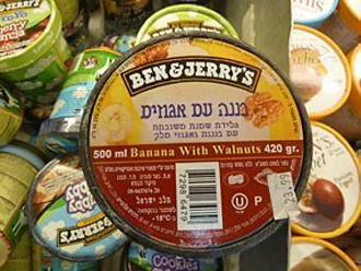 Ben & Jerry's on sale in Israel