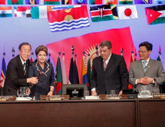 World leaders open the Rio+20 summit in 2012