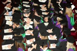 A class of 2013 graduation ceremony