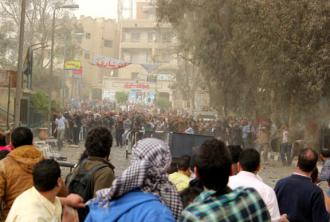 Protesters faced Muslim Brotherhood supporters and Central Security Forces in Cairo last Friday